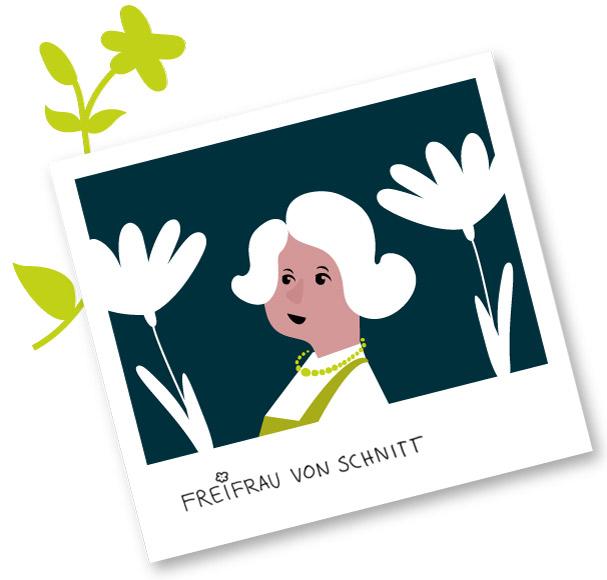 Frau von Schnitt MAIDURA