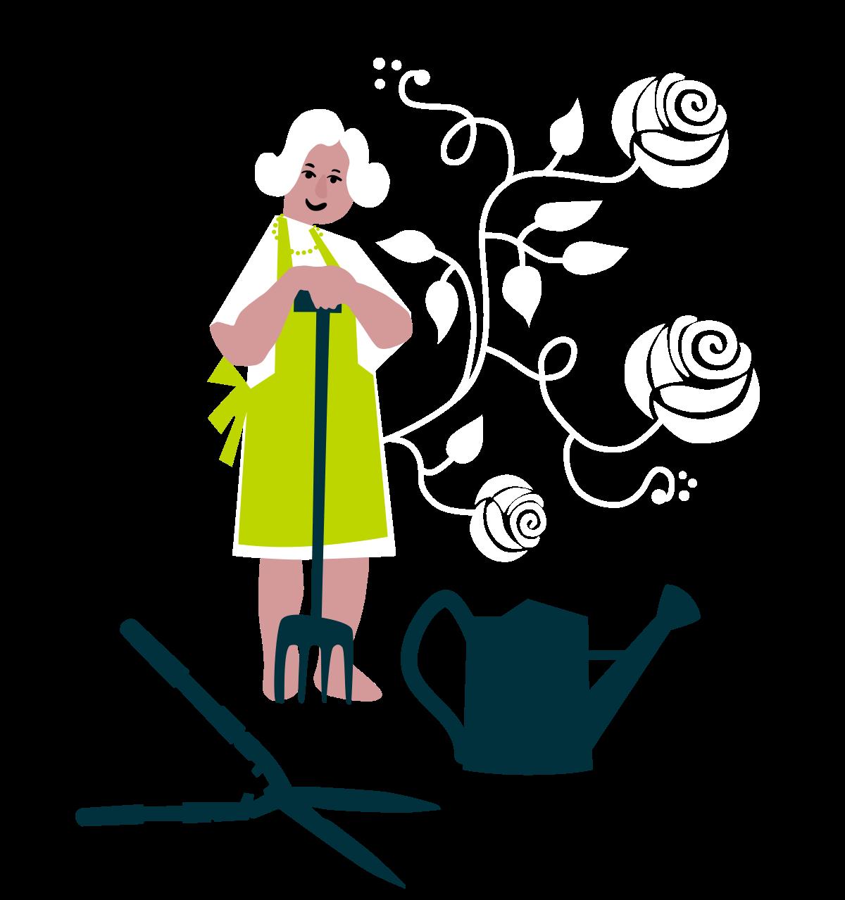 Frau von Schnitt